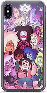 TEEMT Compatible with iPhone 6/6s Case Steven Universe Lion Pink Fanart Pure Clear Phone Cases Cover