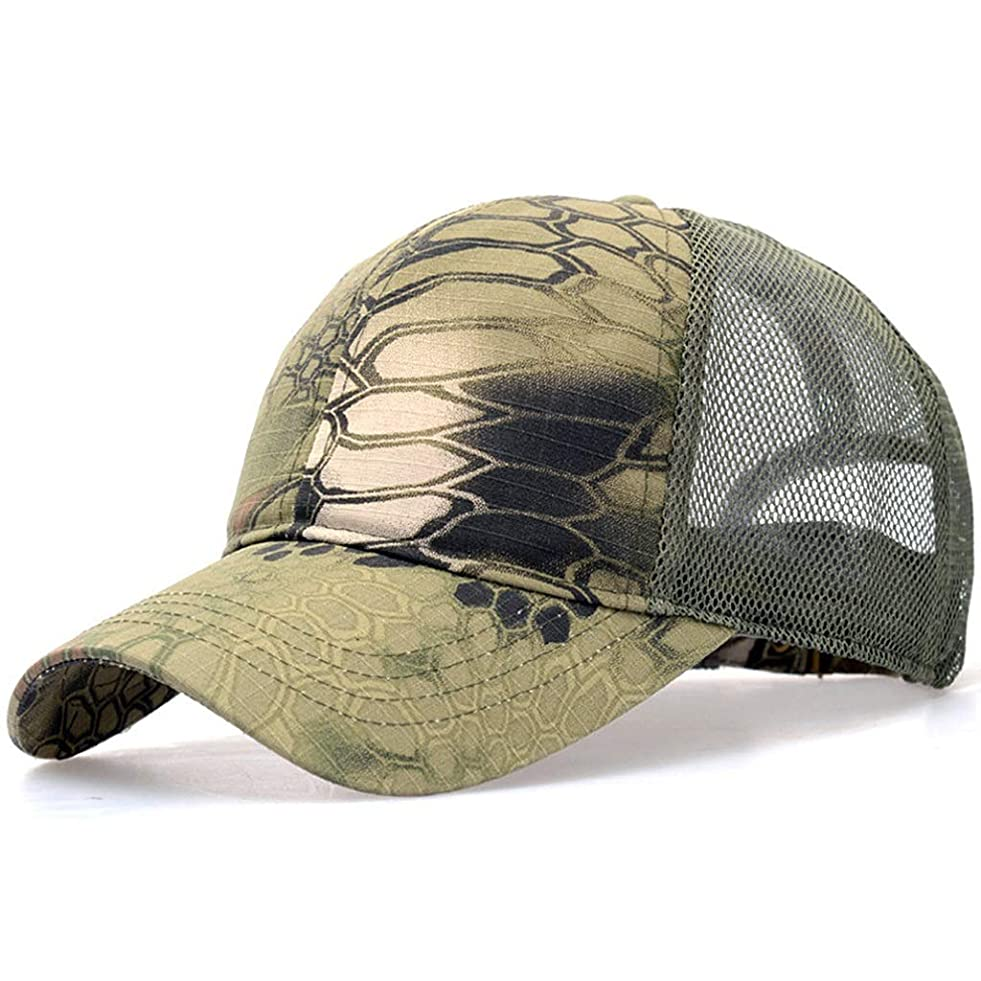 待つスパーク発掘する野球帽 練習帽 ベースボールキャップ キャップ メンズ レディース 帽子 メンズ迷彩戦術ハット軍の戦術的な野球帽ヘッド迷彩日帽子アウトドア釣りキャンプゴルフ速乾性がハットキャップキャップ (Color : C)