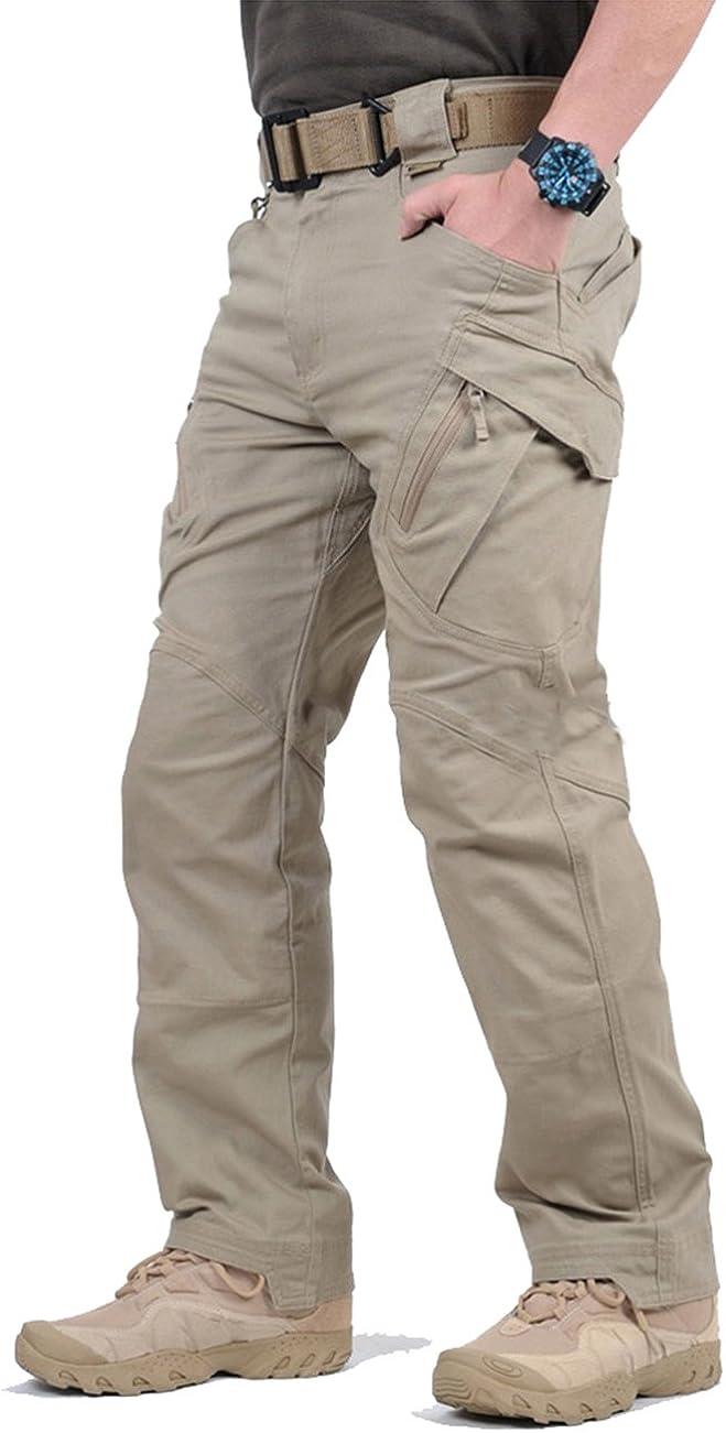 TACVASEN Men's Outdoor Tactical Pants Lightweight Assault Cargo
