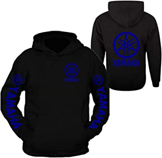 Blue, XX-Large Factory Effex 12-88436 Yamaha Hooded Pull-over Sweatshirt