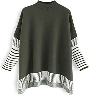 Best striped pullover sweater Reviews