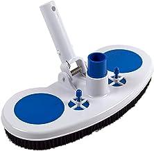 HJUIK Accesorios para Piscinas Aspirador Herramienta Limpieza Cabezal Succión Fuente Aspirador Cepillo (Color : White)