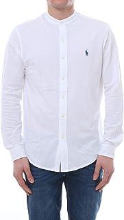 huge discount 4d2b5 070cd Amazon.it: camicia uomo ralph lauren - Bianco