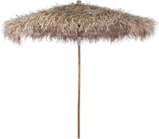 Bamboo Umbrella 270 cm with Banana Leaf Roof