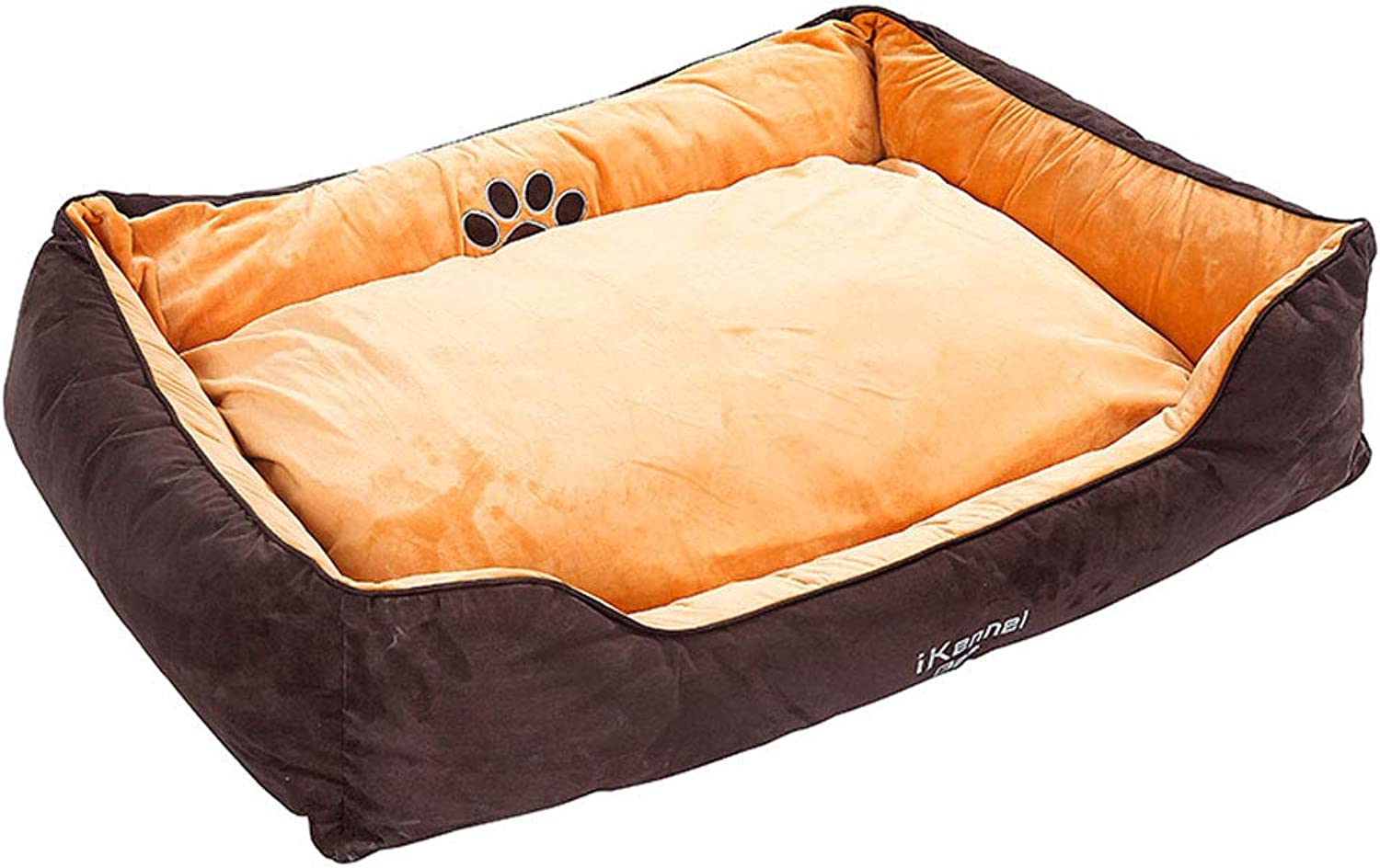 PLDDY Dog Bed,Dog Nest,pet Nest,Non-Sticky Hair, Removable and Washable, Double-Sided Pad, Warm in Winter, Four Seasons Universal, Labrador, golden Retriever, Large Small Dogs, Kennel (Size   S)