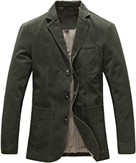 Men's Blazer Jacket Closure Button Three Work Jacket Blazer Comfortable Sizes Jacket Travel Suits Coat Men Fashion