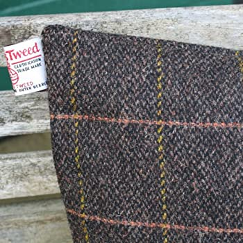 slate & tweed pillow case