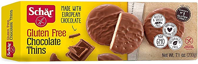 Schar Gluten Free Chocolate Thins,