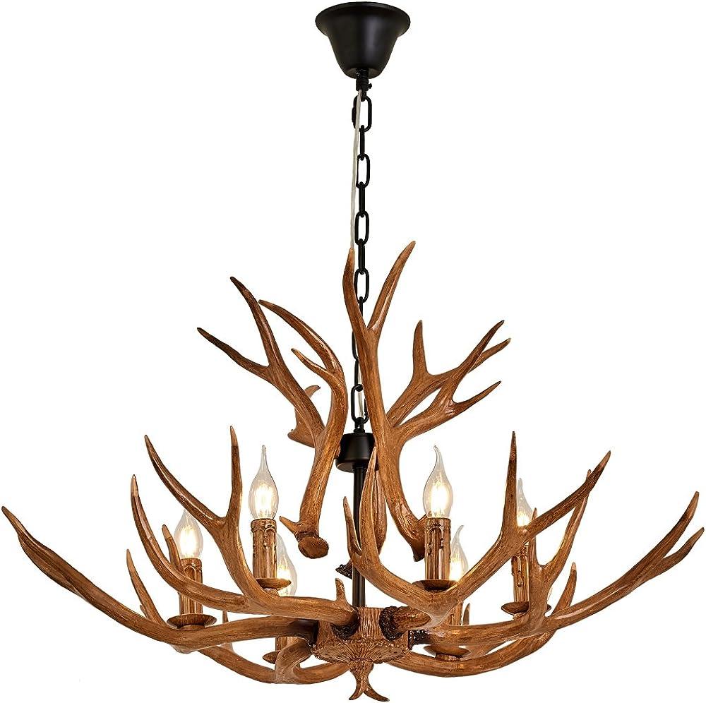 Antlers lampadari corno di cervo Kawayy