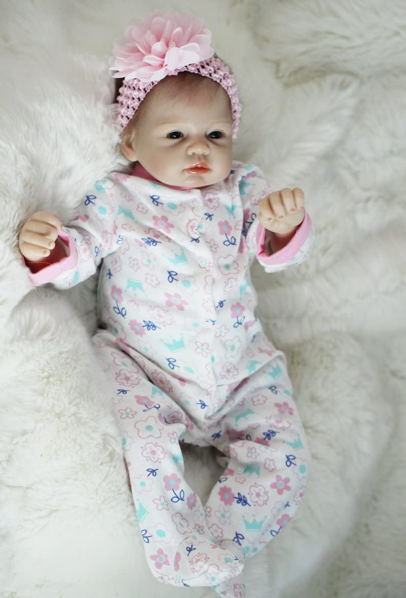 Scnbom Reborn A surprise price is realized Baby Dolls Babies Newborn At the price To 22 Realistic inch55cm