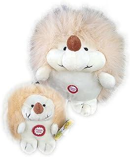 Pet Qwerks P141 Chattering Mini Hedgehog Dog Toy