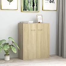 GTLX الجانبية تصميم الحد الأدنى للمنزل غرفة المعيشة غرفة النوم مكتب تخزين خزائن جانبية البوفيهات والأثاث سونوما البلوط 60x...