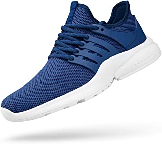 ZOCAVIA Mens Running Shoes Slip On Mesh Lightweight Non Slip Tennis Gym Athletic Sports Fashion Sneakers