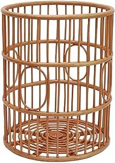 ZYL-YL Panier de rangement Panier de rangement en rotin Hamper Magazine Panier Laundry Basket Jouet Boîte à gants Panier t...