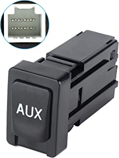 Aux Port Replacement for Toyota Corolla Tacoma RAV4 Tundra Auxiliary Stereo Adaptor Input Jack 86190-02010