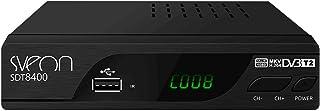 Sveon SDT8400 - Sintonizador TDT2 HD con Funciones de Grabación
