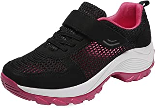 GIY Women's Sports Sneakers Non Slip Lightweight Casual Athletic Shoe Mesh Air Running Walking Shoes