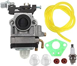 AISEN Carburetor for Motor Gas 2 Cycle 43cc Southland Mini Cultivator S-CV-43 SCV43 Shindaiwa AH242 AHS242 EB802 EB802RT Echo PB-755H PB-755SH PB-260I PB-260L Backpack Blower Carb Gasket Fuel Line