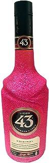 Glitzer Licor 43 0,7l - Bling Glitzerflasche Extreme Pink