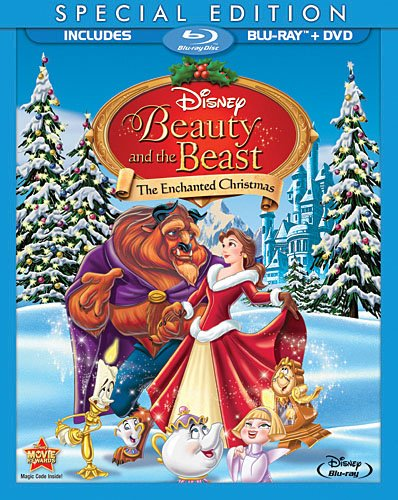 Beauty and the Beast: The Enchanted Christmas (Two-Disc Special Edition) [Blu-ray]