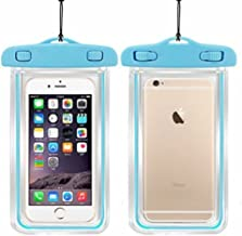 FYUGO Waterproof Sealed, Transparent Bag with Underwater Pouch Phone Case for Mobiles