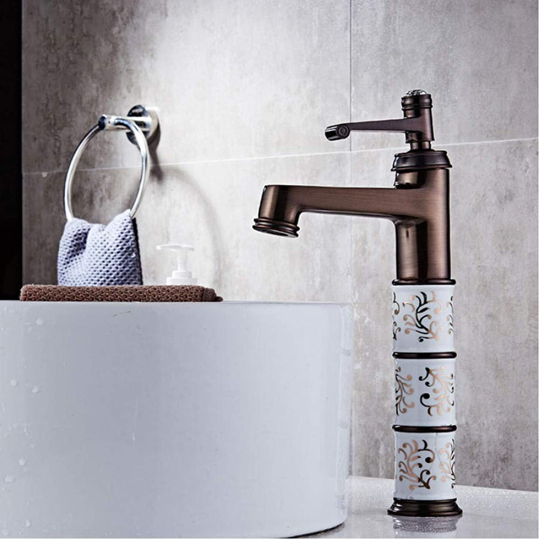 Waschbecken Wasserhahn Waschbecken Wasserhahn Badarmaturen Waschbecken Wasserhahn Messing l Eingerieben Bronze Moderne Waschbecken Wasserhahn Deck Mischbatterie