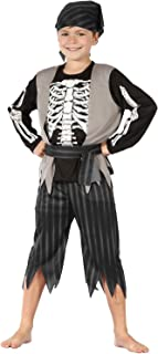 skeleton pirate costume kids