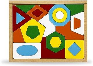 Quebra-Cabeça Geométrico Carlu Brinquedos