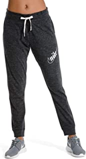 Nike Womens Gym Vintage HBR Pants Black/Sail AO1928-010 Size Medium