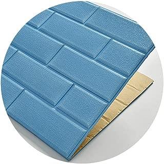 DYFYMXSelf-Sticking Wallpaper 3D Imitation Brick Wall Stickers, DIY Waterproof self-Adhesive Decorative Wallpaper 70CMx77CM Wall cladding