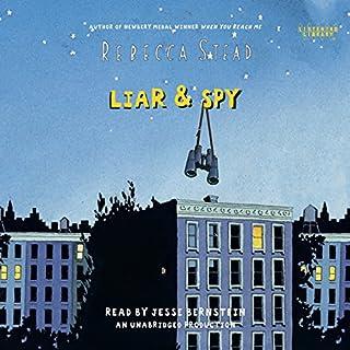 Liar & Spy audiobook cover art