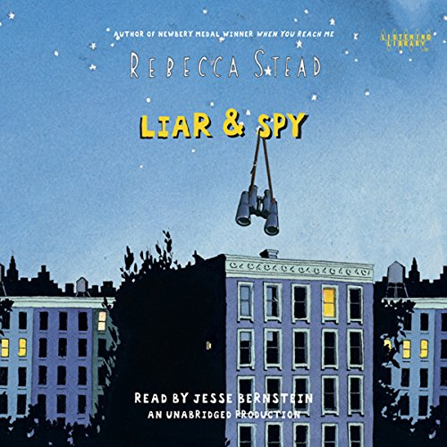 Liar & Spy audiobook cover art