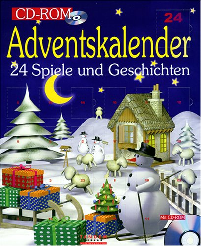 Adventskalender mit CD- ROM für Windows 95/98
