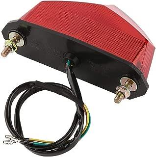 RONGLINGXING Accessories Motorcycle 10 LED Brake Stop Signal Tail Light, Street Bike Modified Rear Indicator, Universal Motorcycle Repair Part