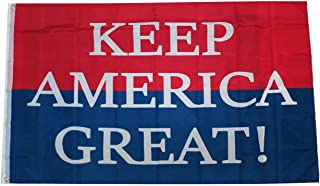 TrendyLuz Flags Keep America Great Donald Trump President MAGA 2020 Make America Great Again 3x5 Feet Banner Flag