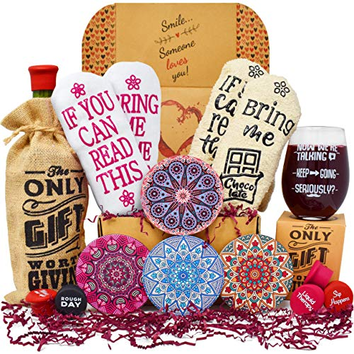 Gift Baskets for Women - Perfect Birthday Gifts for Her: 2...