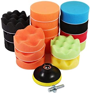 19Pcs 3 Auto Tool Polishing Buffing Pad Set
