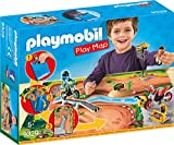 PLAYMOBIL- Play Map Motocross Juguete, Multicolor (geobra Brandstätter 9329)
