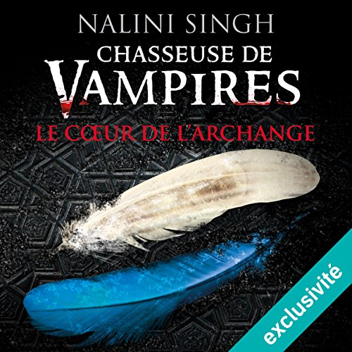 Le cœur de l'archange (Chasseuse de vampires 9) audiobook cover art