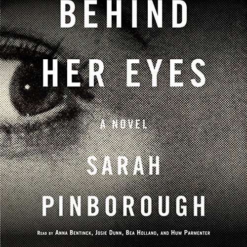 Behind Her Eyes audiobook cover art