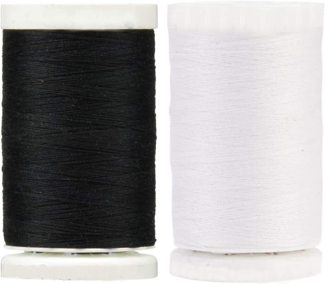 Black Nu-White 2-Pack Bundle of New color 547 Gutermann - Sew-All Thread Max 80% OFF
