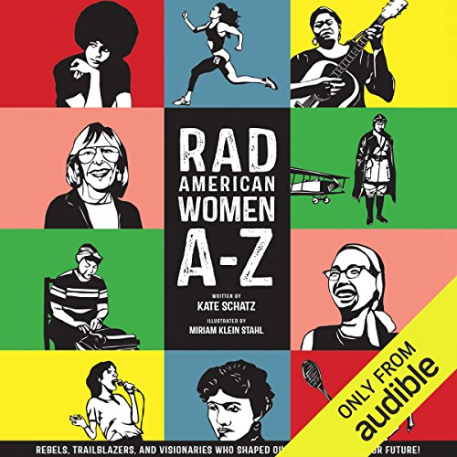 Rad American Women A-Z audiobook cover art