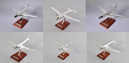 Lot de 6 avions DC-3 Antonov DH Convair 1 200 Collection Atlas en Silber plaqué -réf  SW6