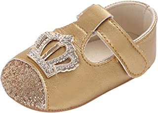 ab6f47e7fd20 Amazon.com  12-18 mo. - Gold   Shoes   Baby Girls  Clothing