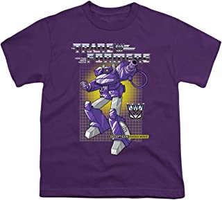 Transformers Shockwave Unisex Youth T Shirt for Boys and Girls
