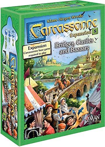 Carcassonne: Bridges Castles Bazaars Expansion 8