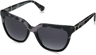 Kate Spade New York Womens Kahli/S Grey Havana Black/Dark Grey Gradient One Size One Size