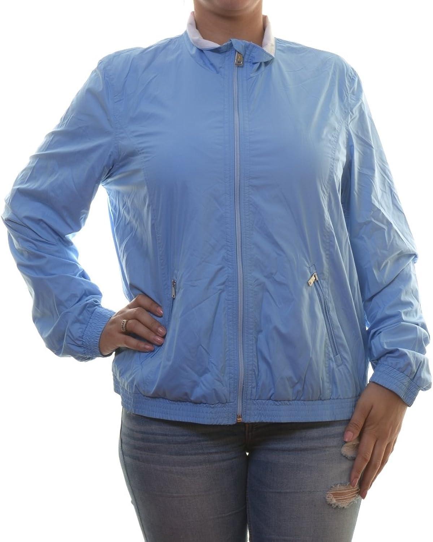 Ralph Lauren Women's Full Zip Mockneck Windbreaker Jacket