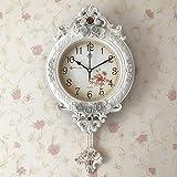 KKLOCK Wanduhr Uhr Wanduhren Lautlos für Wohnzimmer Büro Schlafzimmer Badezimmer Küche...