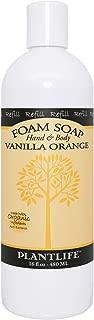 Hand & Body Foam Soap Vanilla Orange 16oz Refill